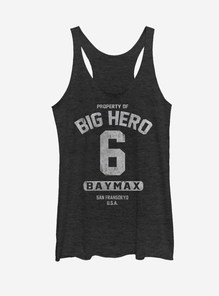 Disney Big Hero 6 Property Baymax Womens Tank
