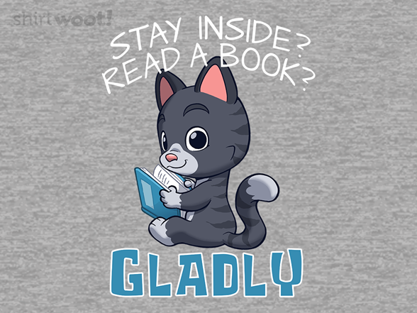 Stay Inside And Read T Shirt