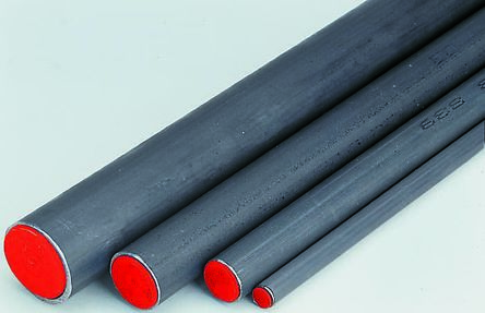 RS PRO 2m Black Phosphate Steel Hydraulic Tubing, 3mm Wall Thickness, 254 bar, -40 to +120°C (3)