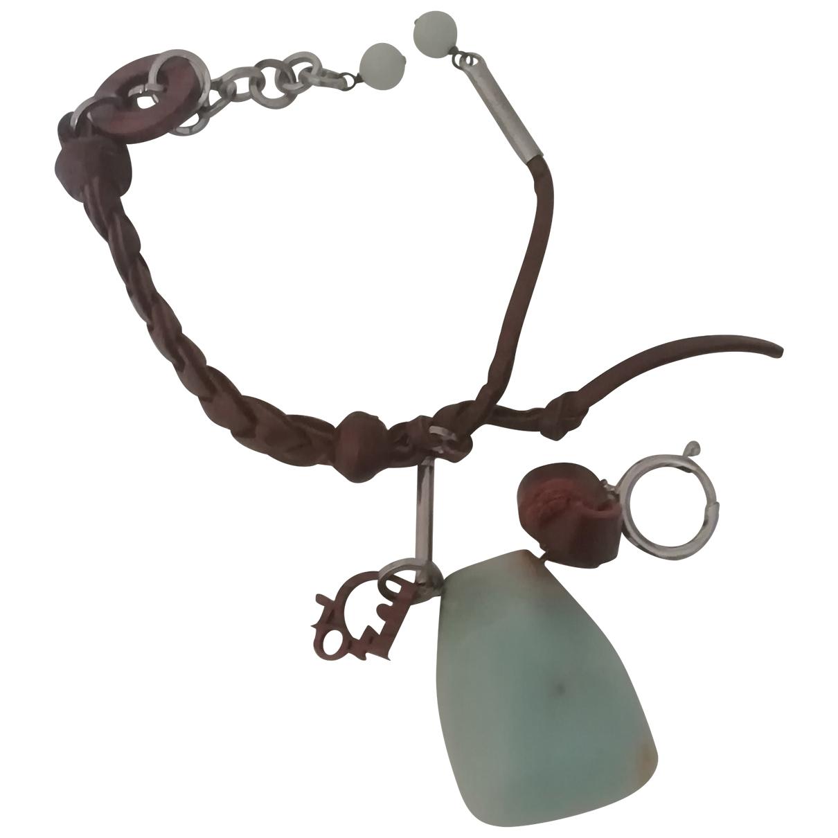 Christian Dior \N Brown Leather bracelet for Women \N