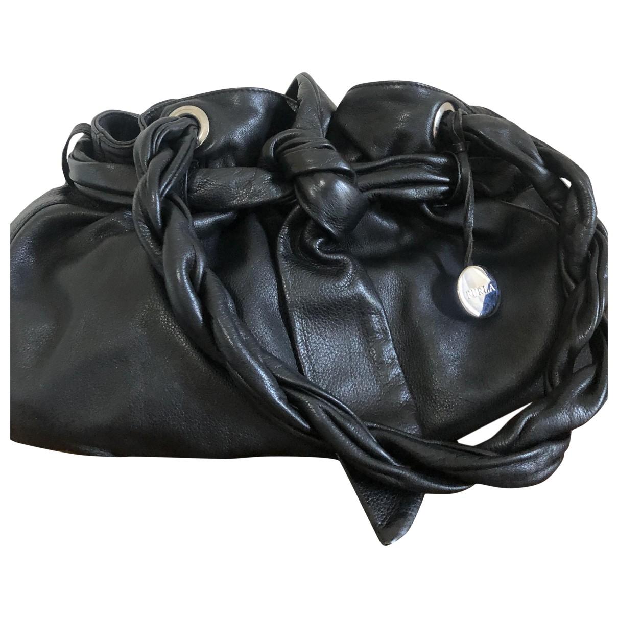 Furla - Sac a main   pour femme en cuir - noir
