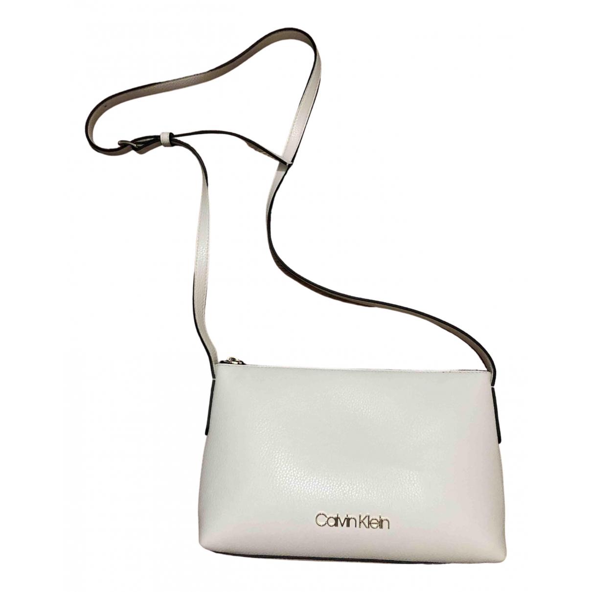 Calvin Klein N Ecru Leather Clutch bag for Women N