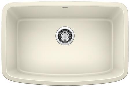 Valea 442553 Silgranit Undermount Single Sink Bowl  in