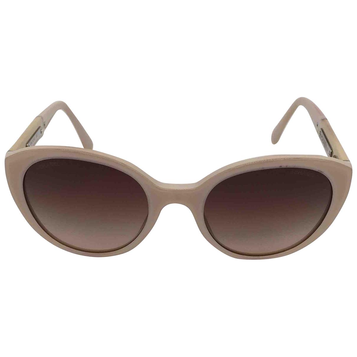 Chanel - Lunettes   pour femme - beige