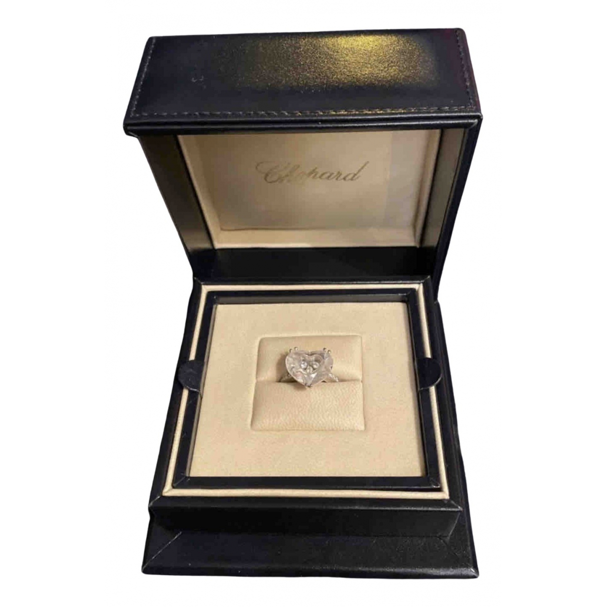 Chopard So Happy Diamonds Ring in  Weiss Weissgold