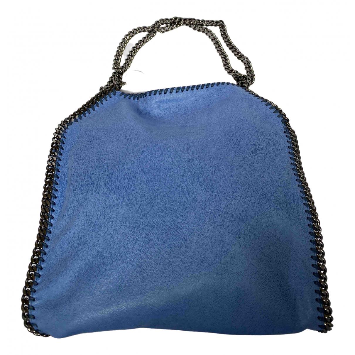 Stella Mccartney - Sac a main Falabella pour femme en toile - bleu