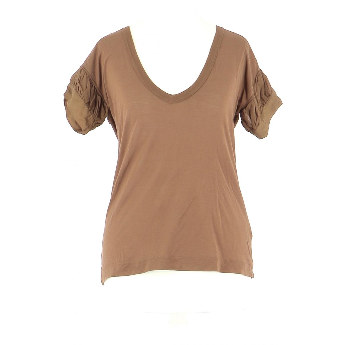 Pinko - Top   pour femme en coton - marron