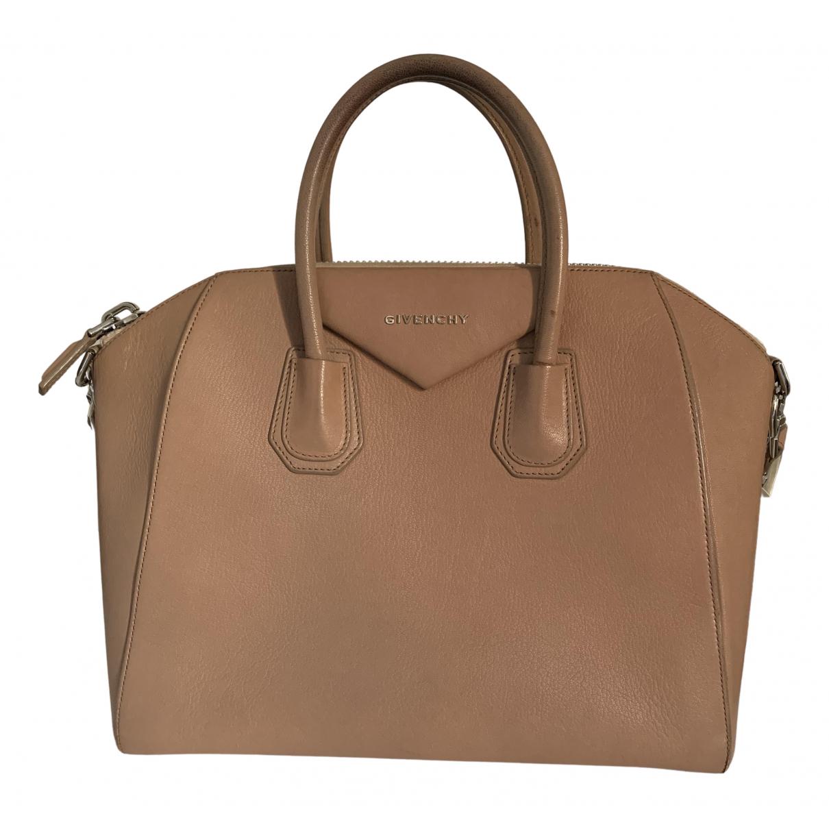 Givenchy Antigona Handtasche in  Beige Leder