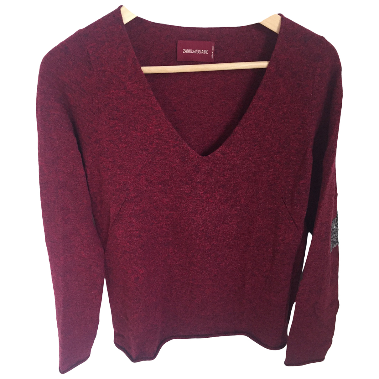 Zadig & Voltaire \N Red Wool Knitwear for Women S International