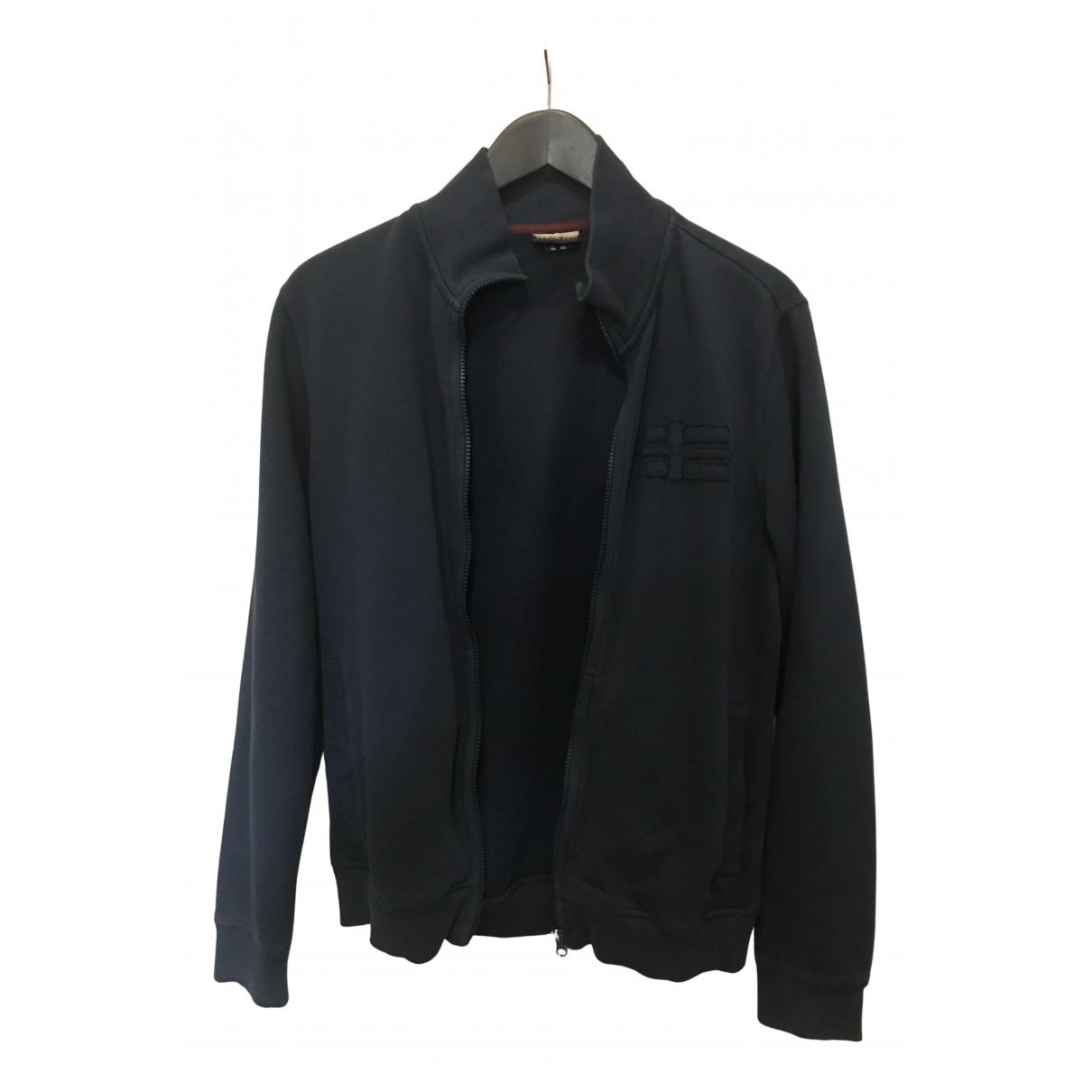 Napapijri N Blue Cotton Knitwear & Sweatshirts for Men S International