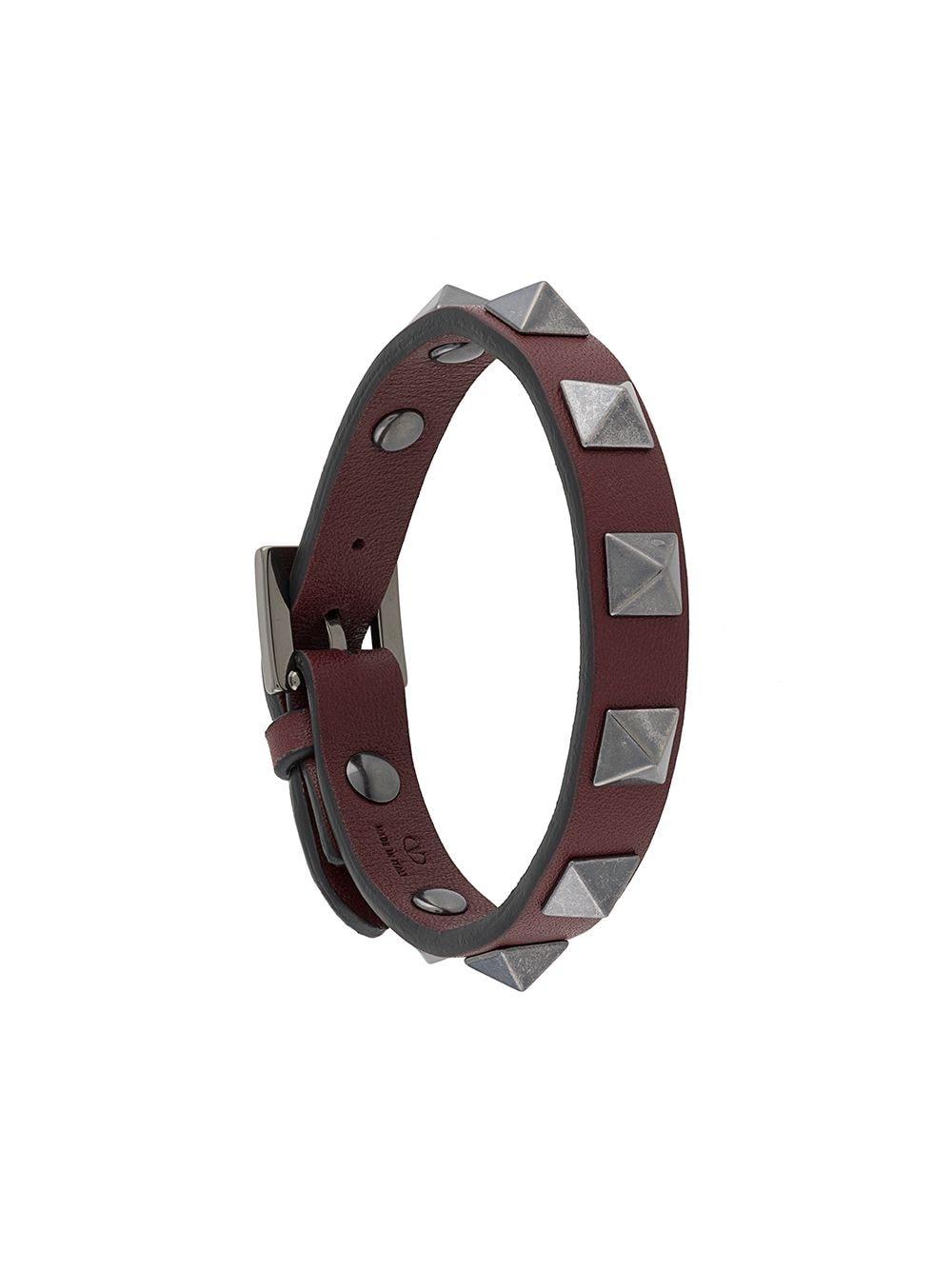Leather Bracelet With Studs