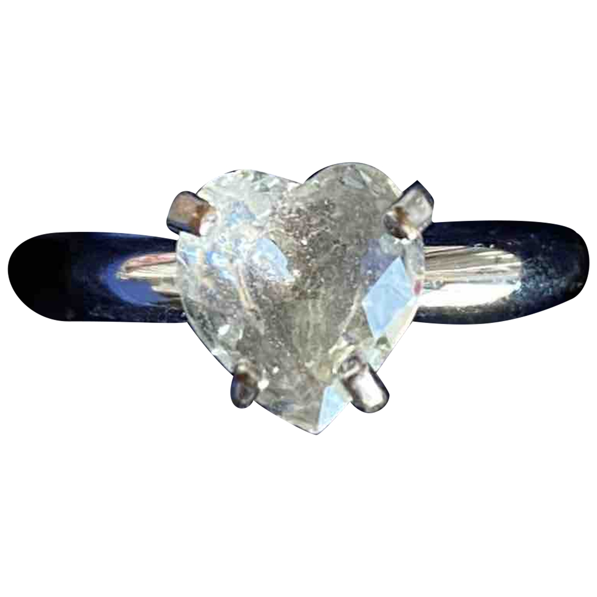 Swarovski \N Silver Metal ring for Women \N