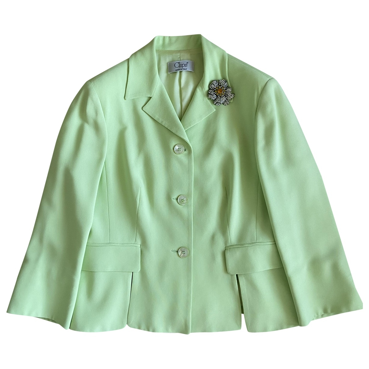 Non Signé / Unsigned \N Green jacket for Women 48 IT