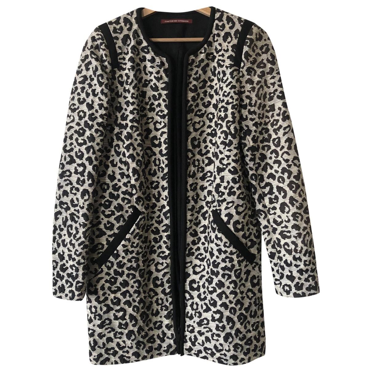 Comptoir Des Cotonniers \N White Cotton coat for Women 36 FR