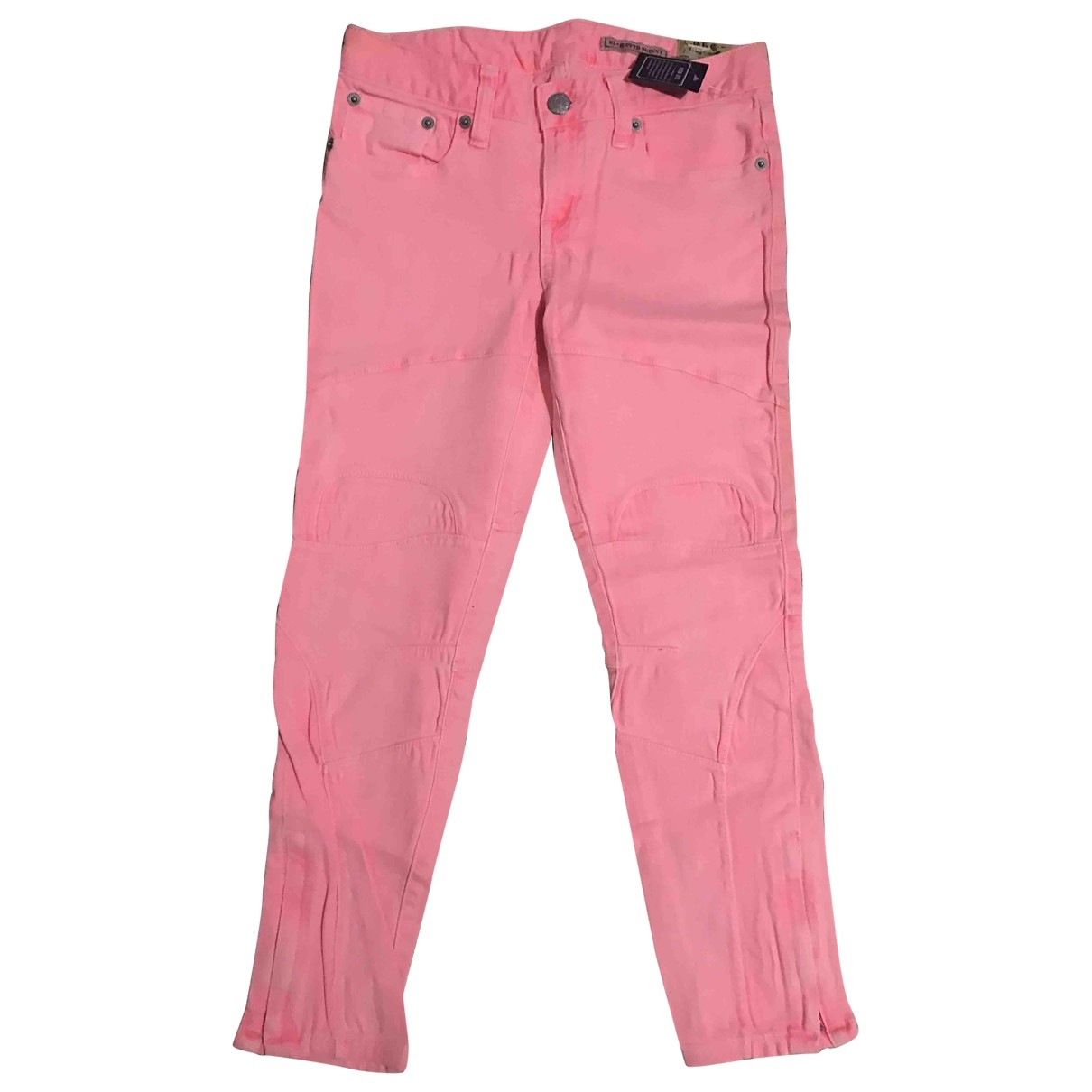 Ralph Lauren \N Pink Denim - Jeans Trousers for Kids 10 years - until 56 inches UK