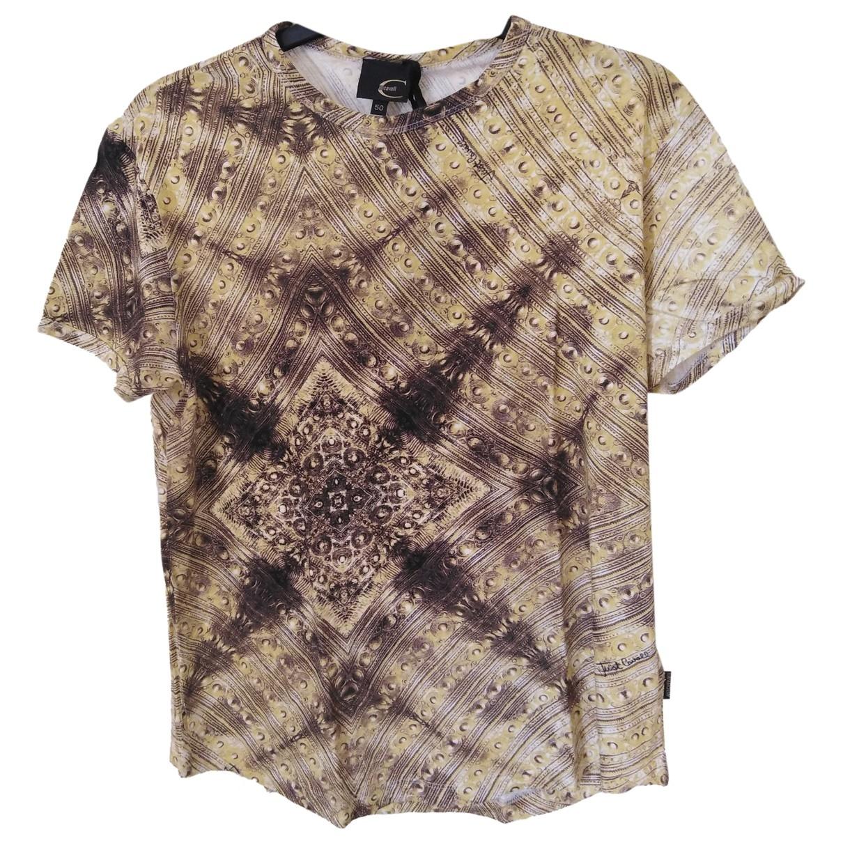 Just Cavalli \N Gold Cotton T-shirts for Men L International