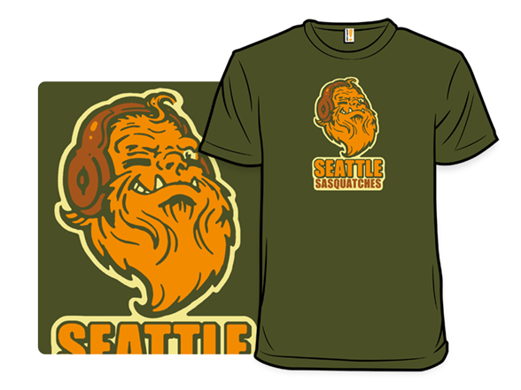 Seattle Sasquatches T Shirt