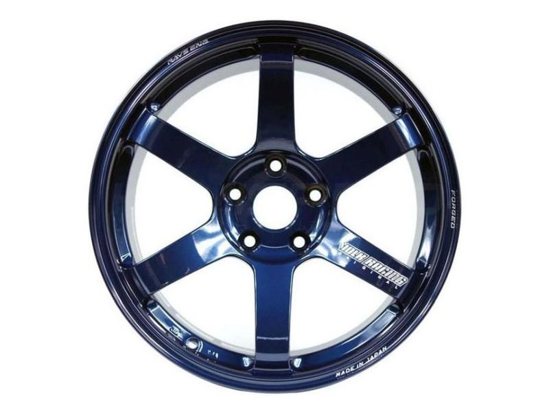 Volk Racing WVDGW38RD TE37 Saga Wheel 18x9 5x108 38mm Mag Blue