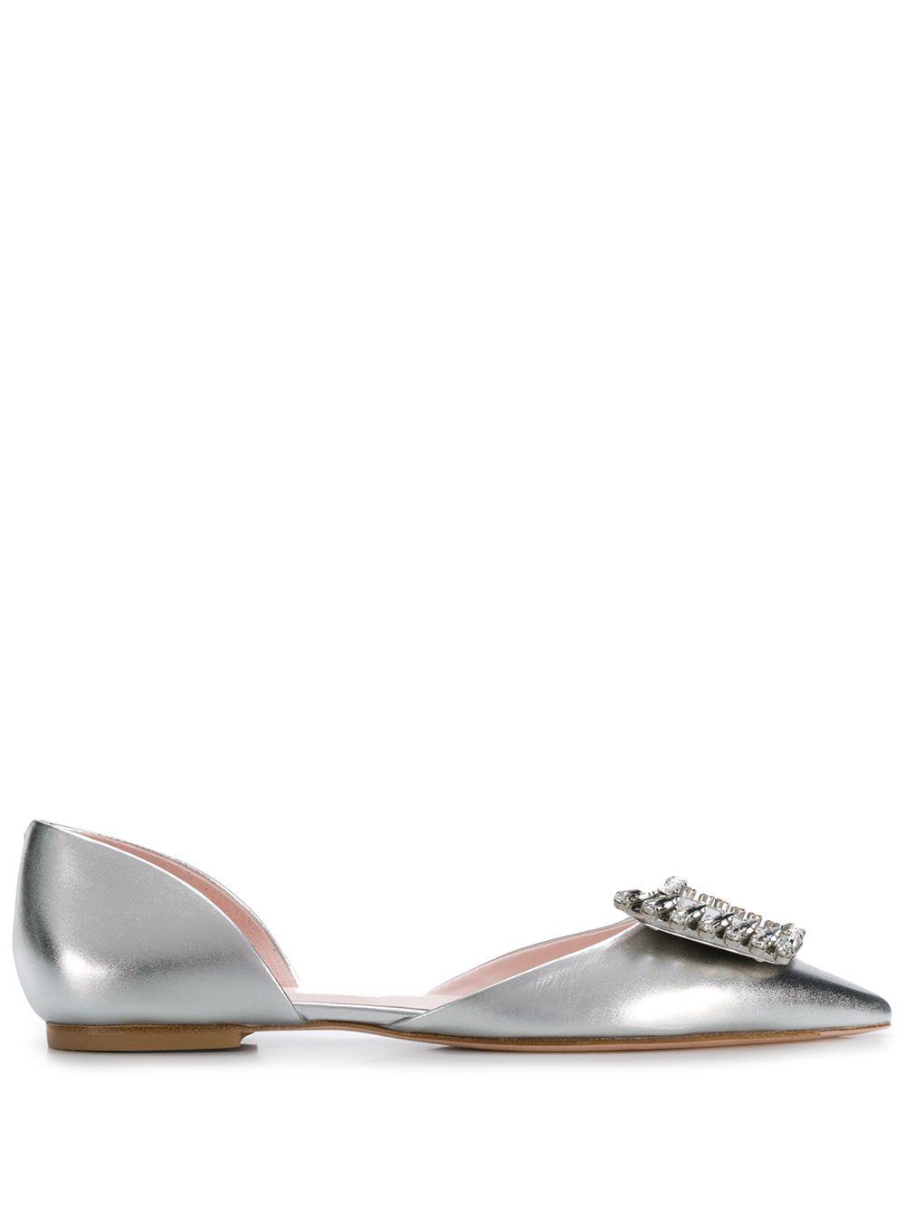 Dorsay Leather Ballet Flat