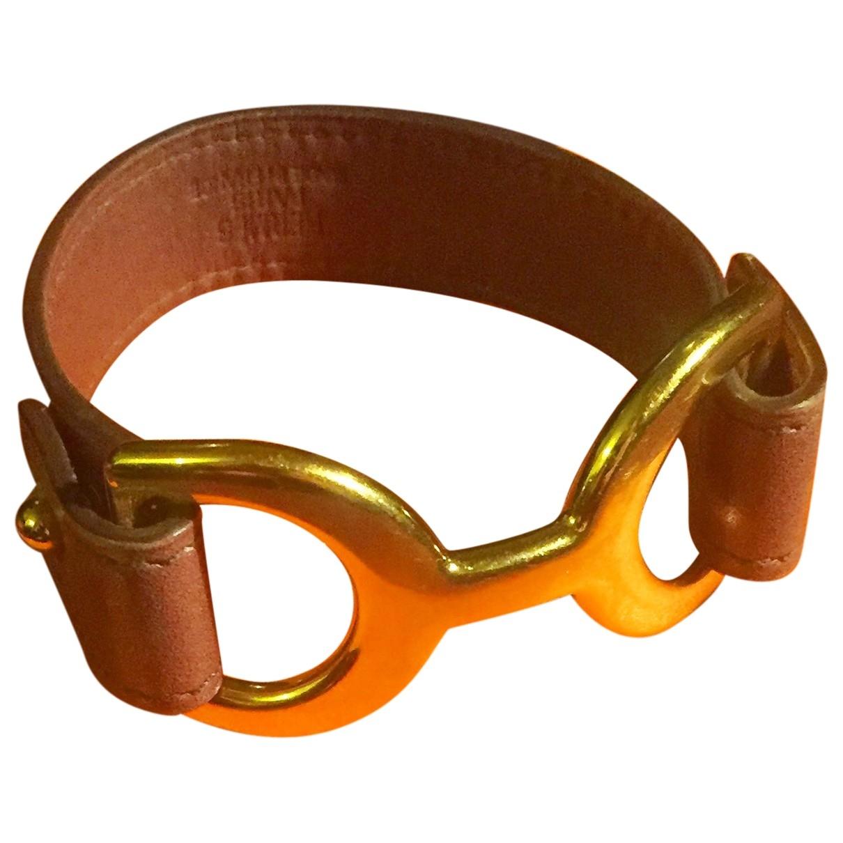 Hermes - Bracelet Pavane pour femme en cuir
