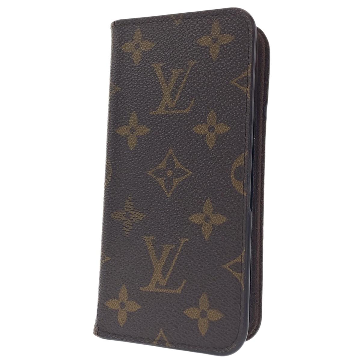 Louis Vuitton \N Kleinlederwaren in  Braun Synthetik