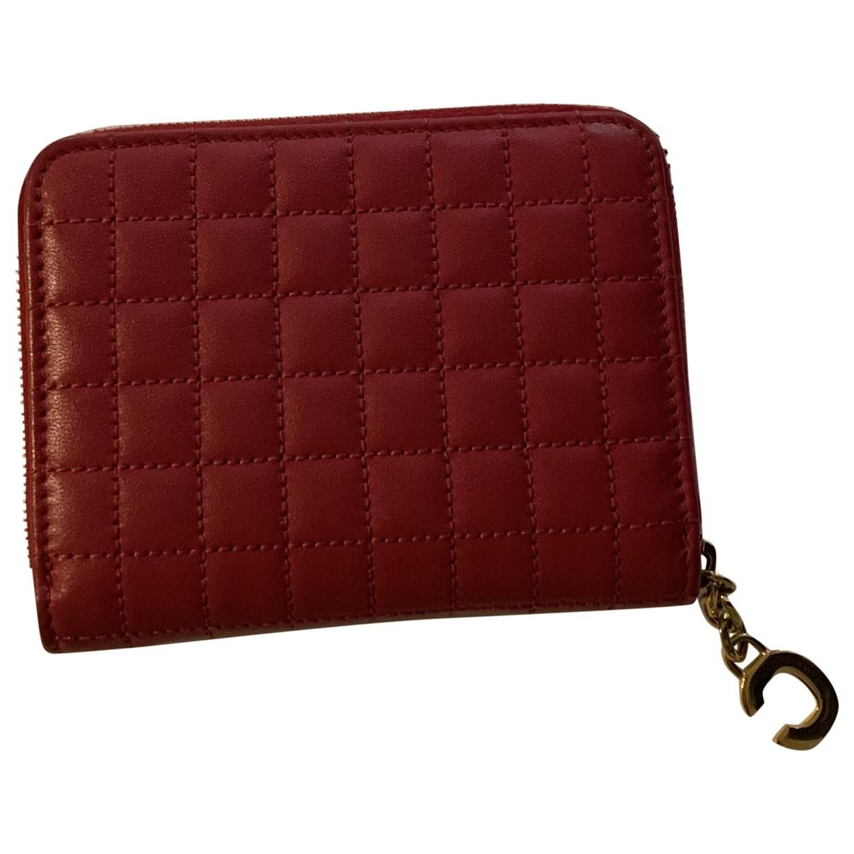 Celine - Petite maroquinerie   pour femme en cuir - rose