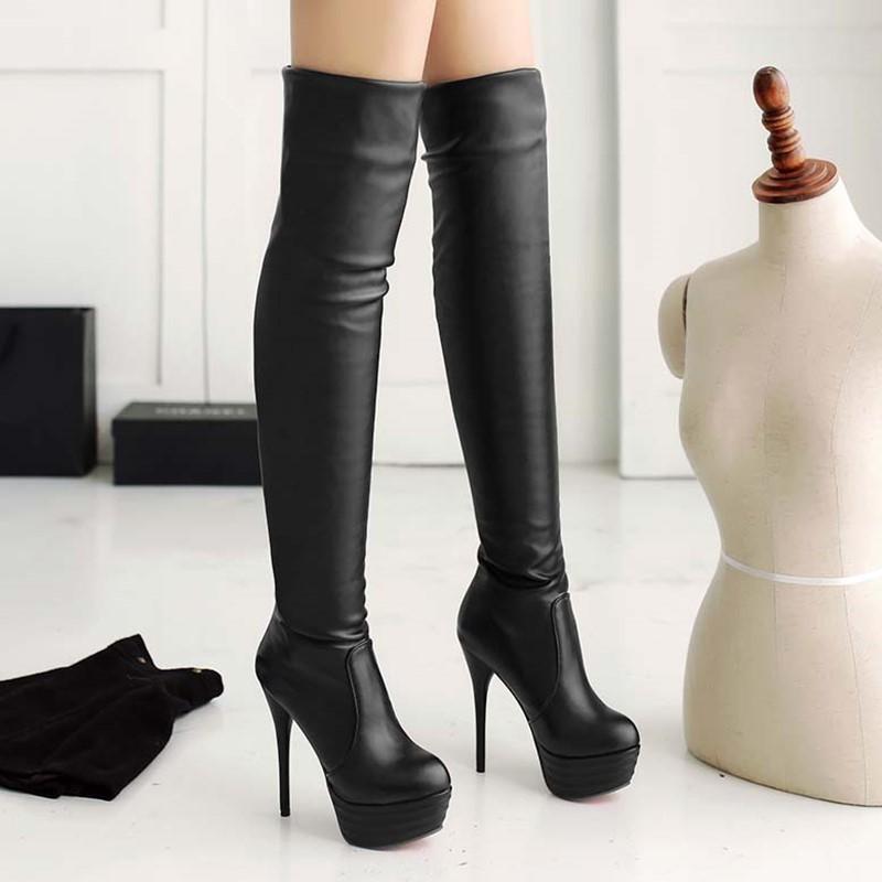 Ericdress Modern Lady Knee High Boots