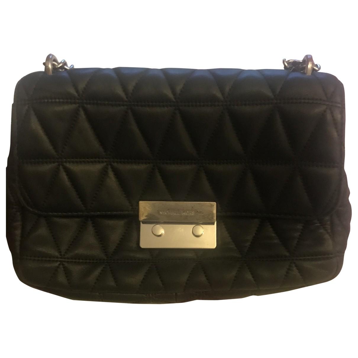 Michael Kors Vivianne Black Leather handbag for Women \N
