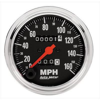 Auto Meter Traditional Chrome Mechanical Speedometer - 2494