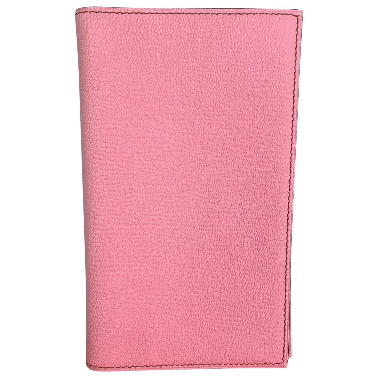 Hermes - Objets & Deco Vision pour lifestyle en cuir - rose