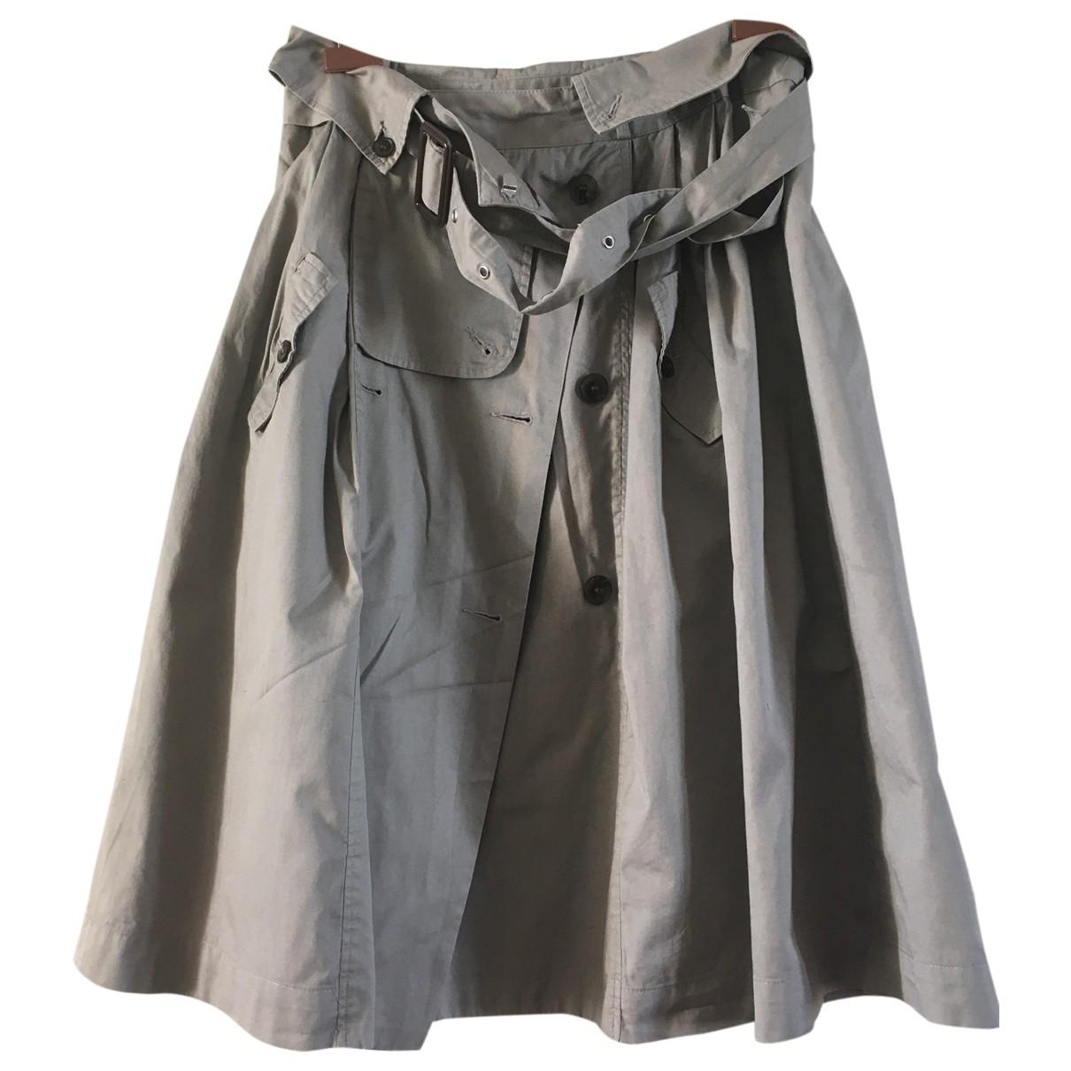 Karl Marc John - Jupe   pour femme en coton - gris