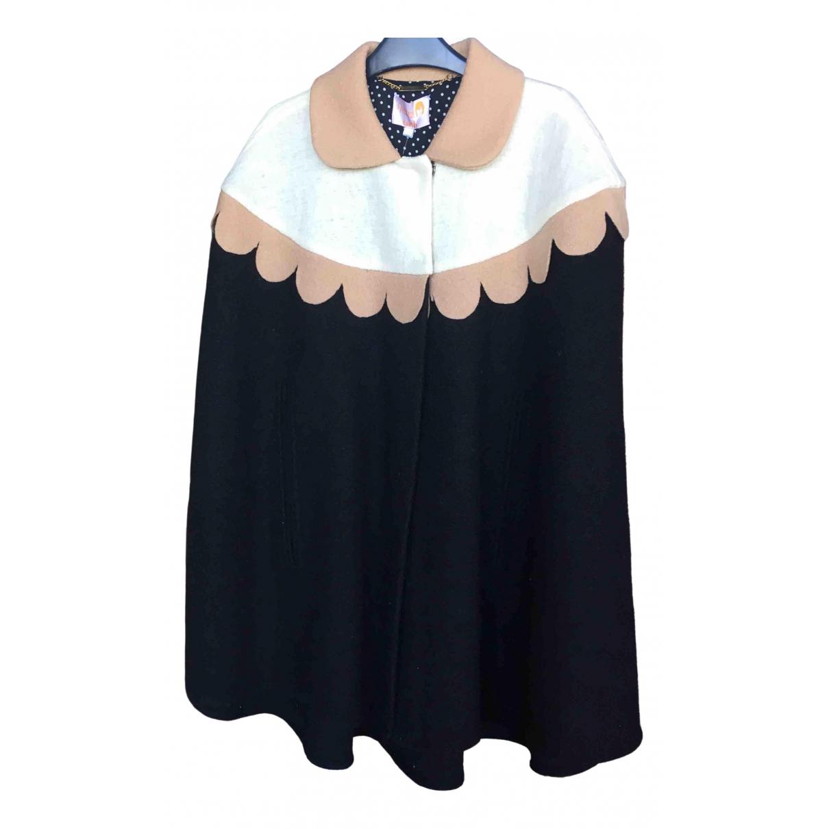 Dolores Promesas - Veste   pour femme en laine - noir