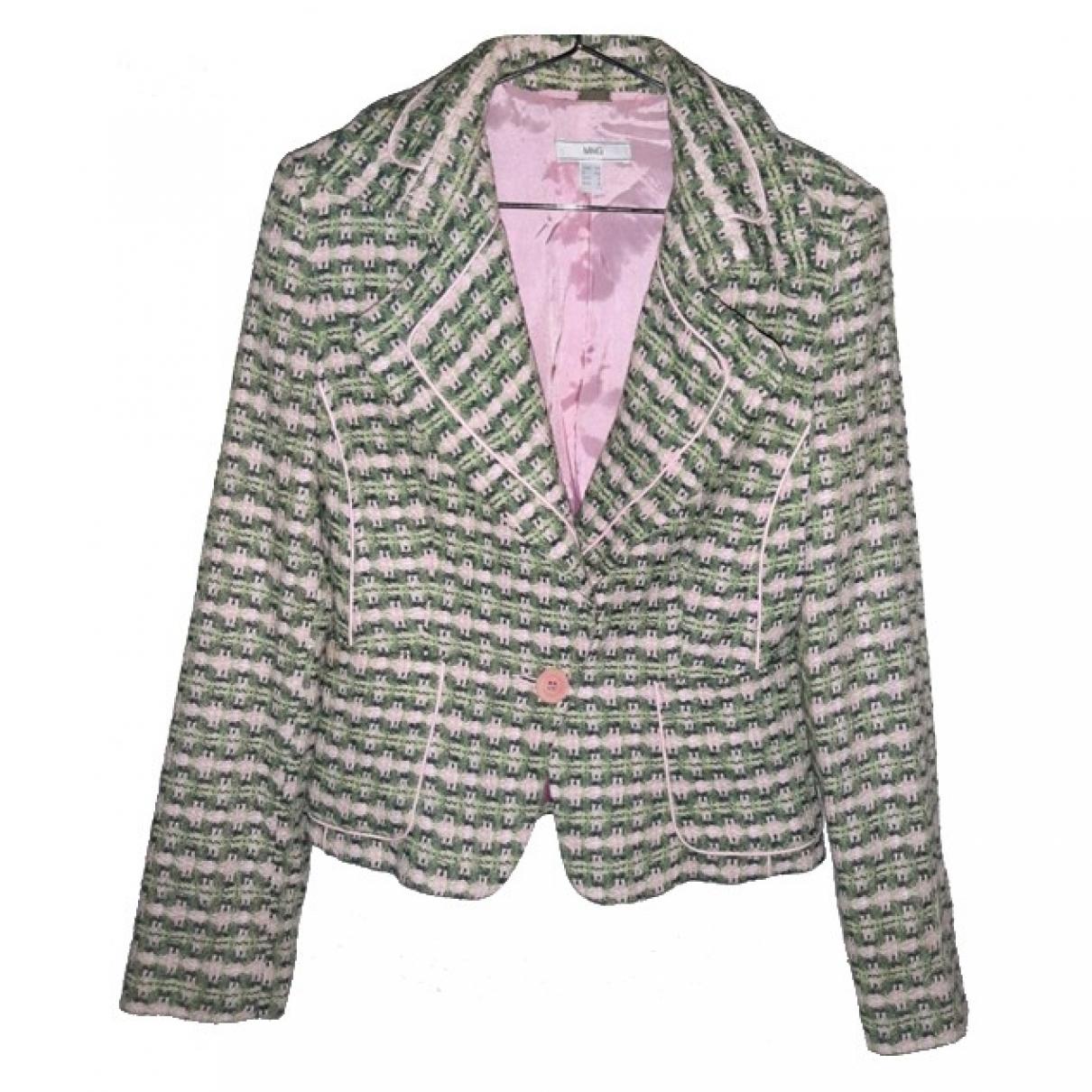 Mango \N Green Tweed jacket for Women S International