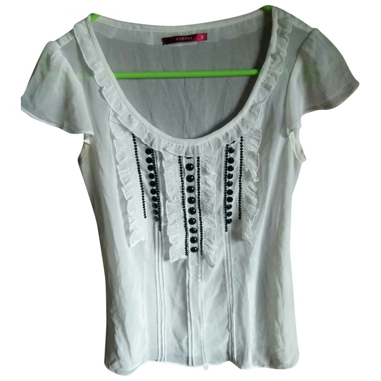 Non Signé / Unsigned \N White  top for Women 44 IT