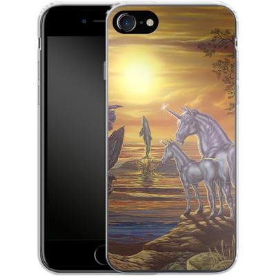 Apple iPhone 7 Silikon Handyhuelle - Ed Beard Jr - Mystical Occurance von TATE and CO