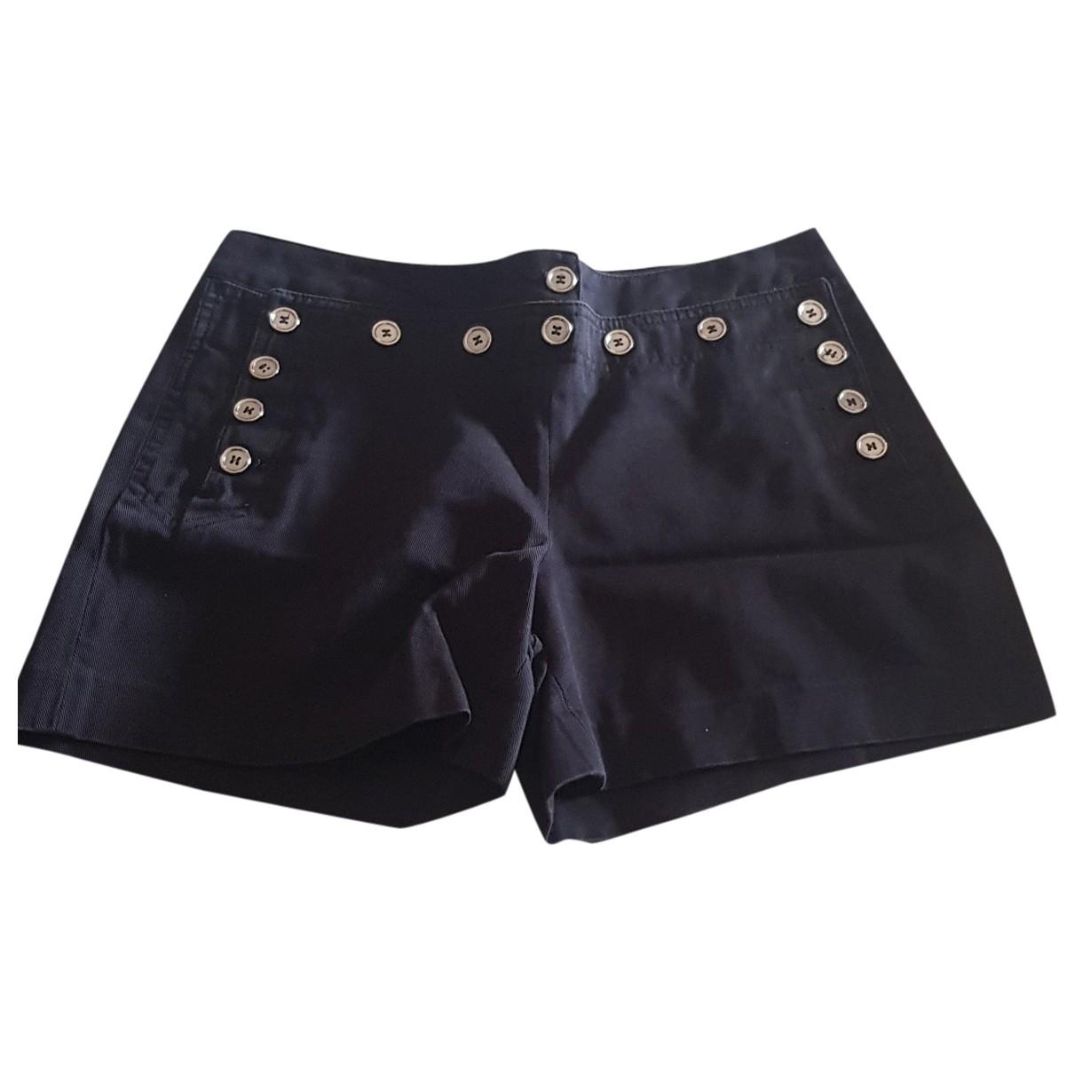 Dolce & Gabbana N Blue Cotton Shorts for Women 38 FR
