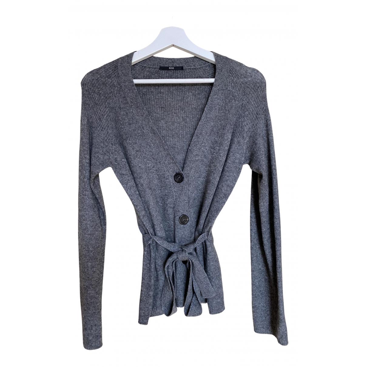 Boss \N Grey Cashmere Knitwear for Women M International