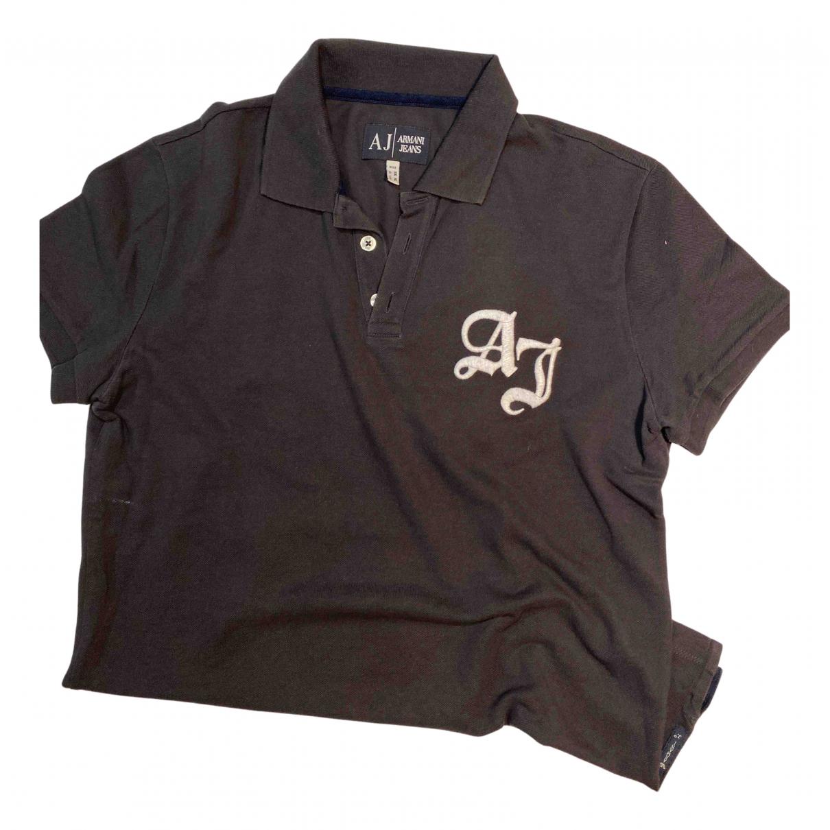 Polo en Algodon Antracita Armani Jeans