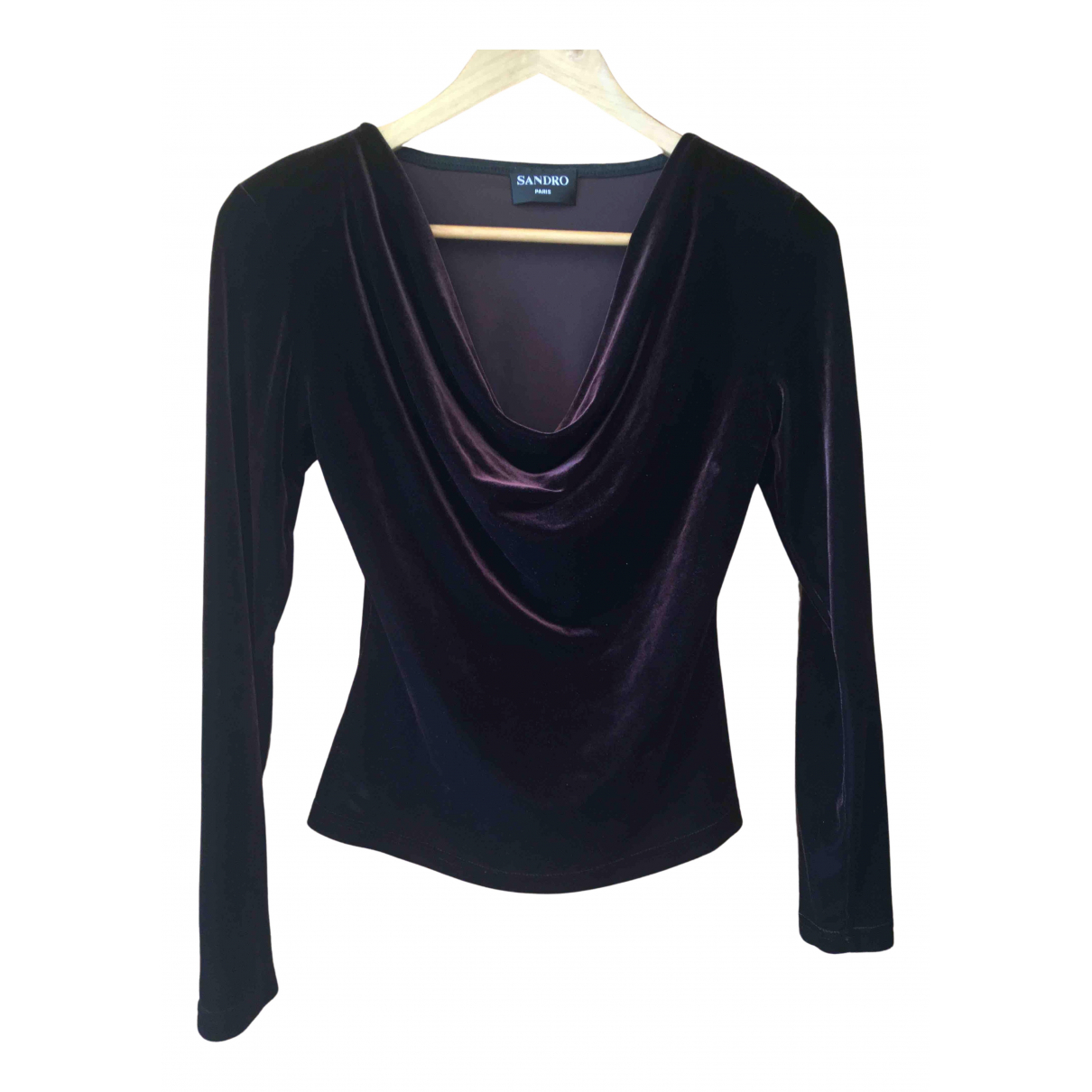 Sandro N Brown Cotton Knitwear for Women 36 FR