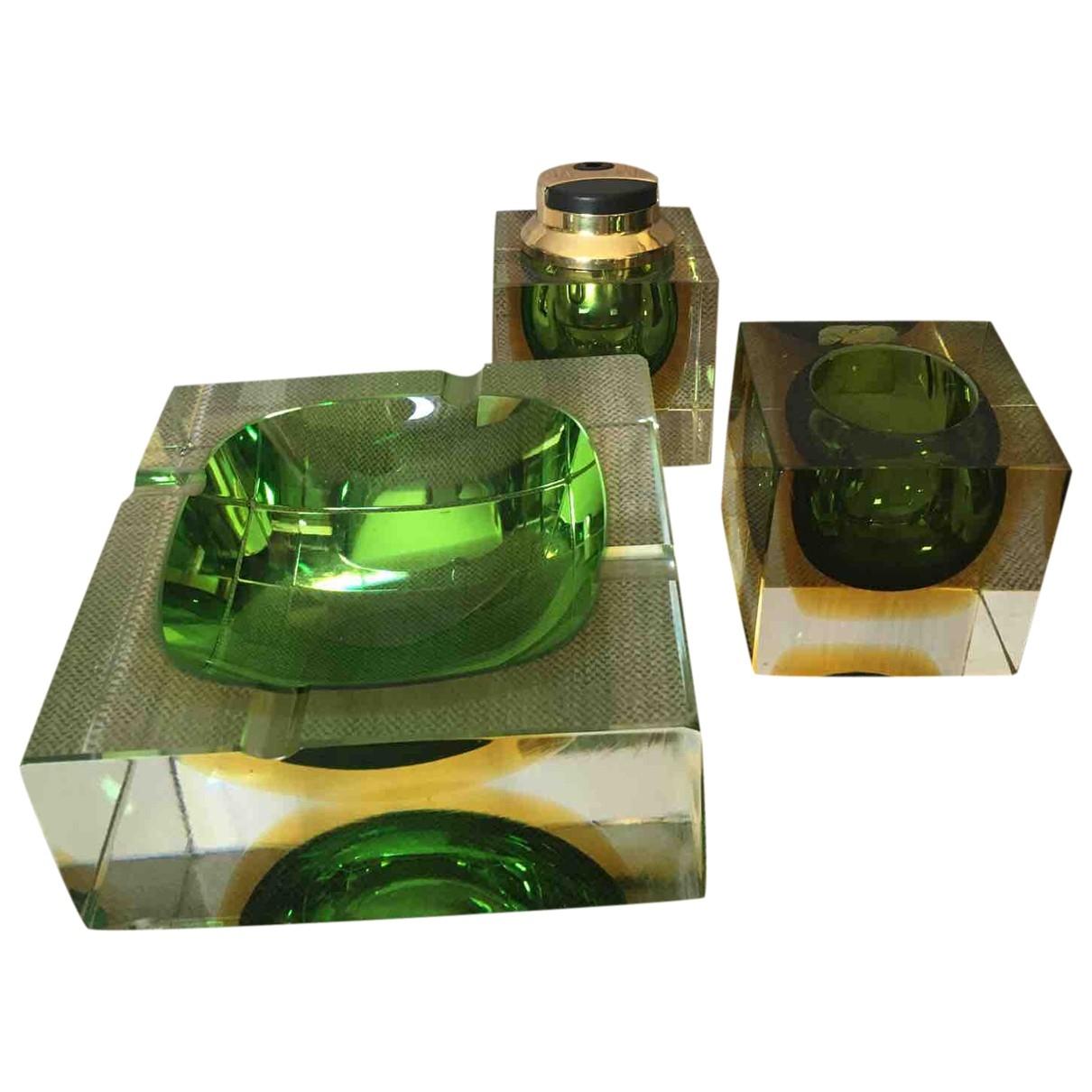 - Objets & Deco   pour lifestyle en cristal - vert