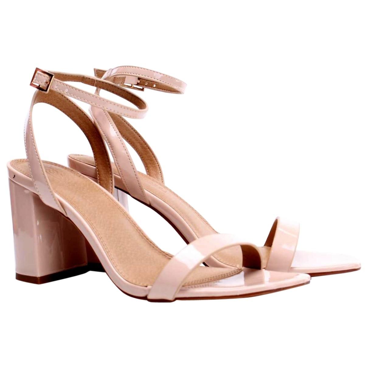 Asos - Sandales   pour femme en cuir - rose