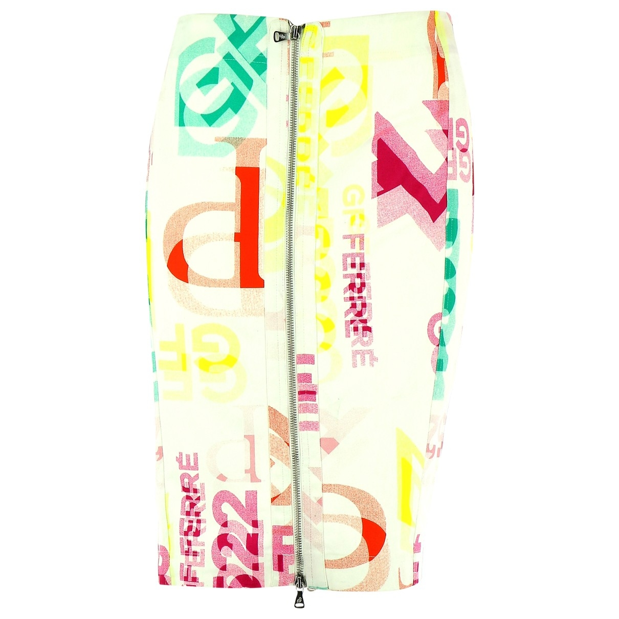 Gianfranco Ferré \N Multicolour Cotton skirt for Women 36 FR