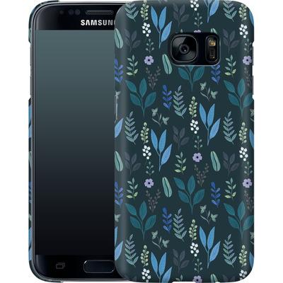 Samsung Galaxy S7 Smartphone Huelle - Blue Foliage von Iisa Monttinen