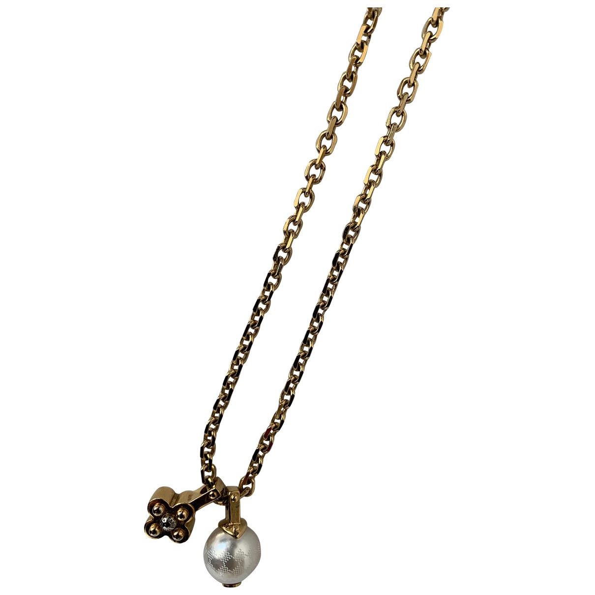 Louis Vuitton - Pendentif   pour femme en metal - dore
