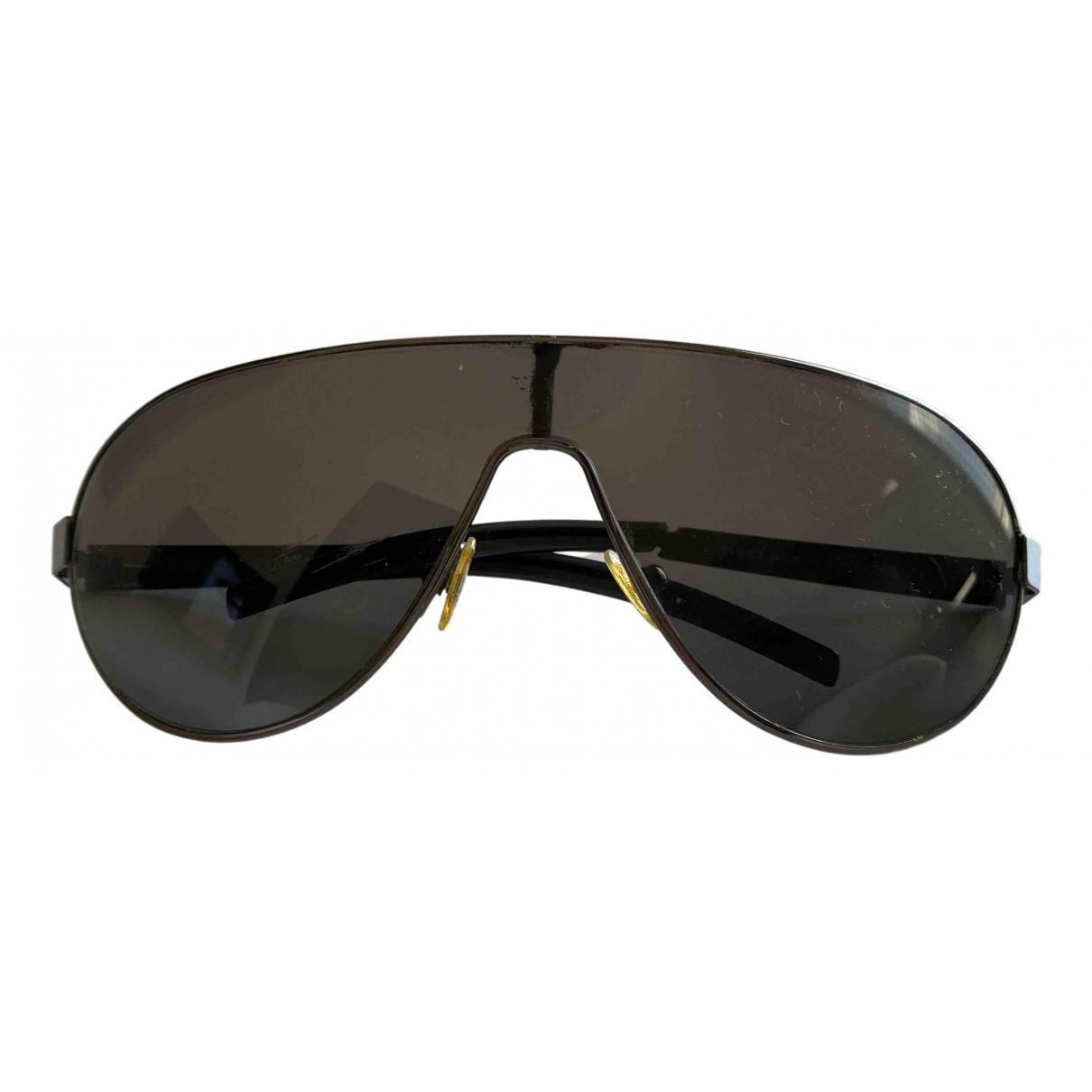 Emporio Armani \N Sonnenbrillen in  Anthrazit Metall