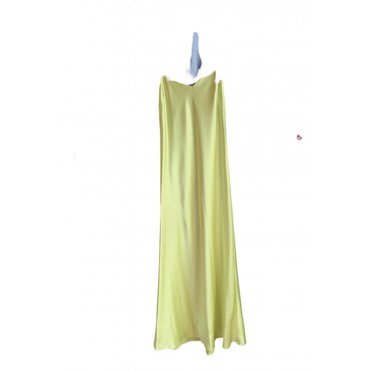 Galvan London \N Kleid in  Gruen Synthetik