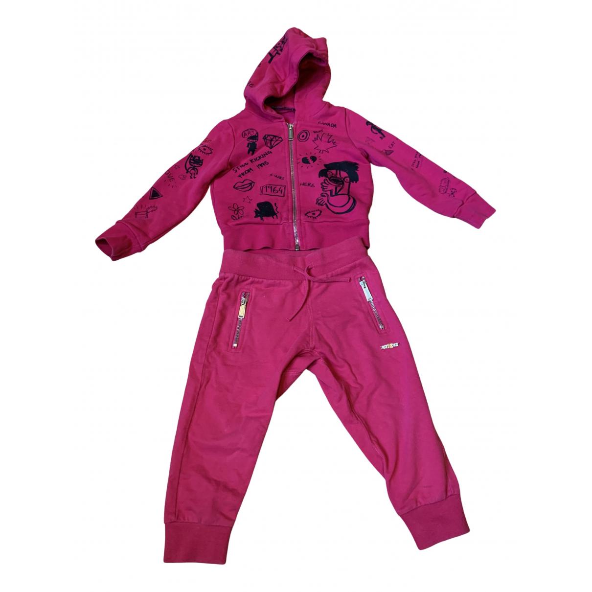 Dsquared2 - Les ensembles   pour enfant en coton - rose