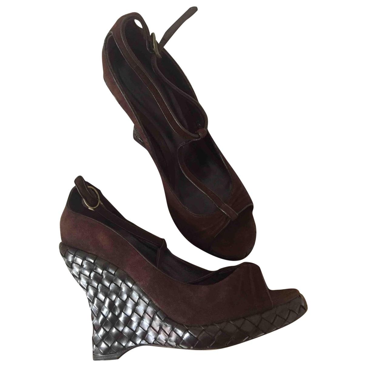 Sandalias de Cuero Bottega Veneta
