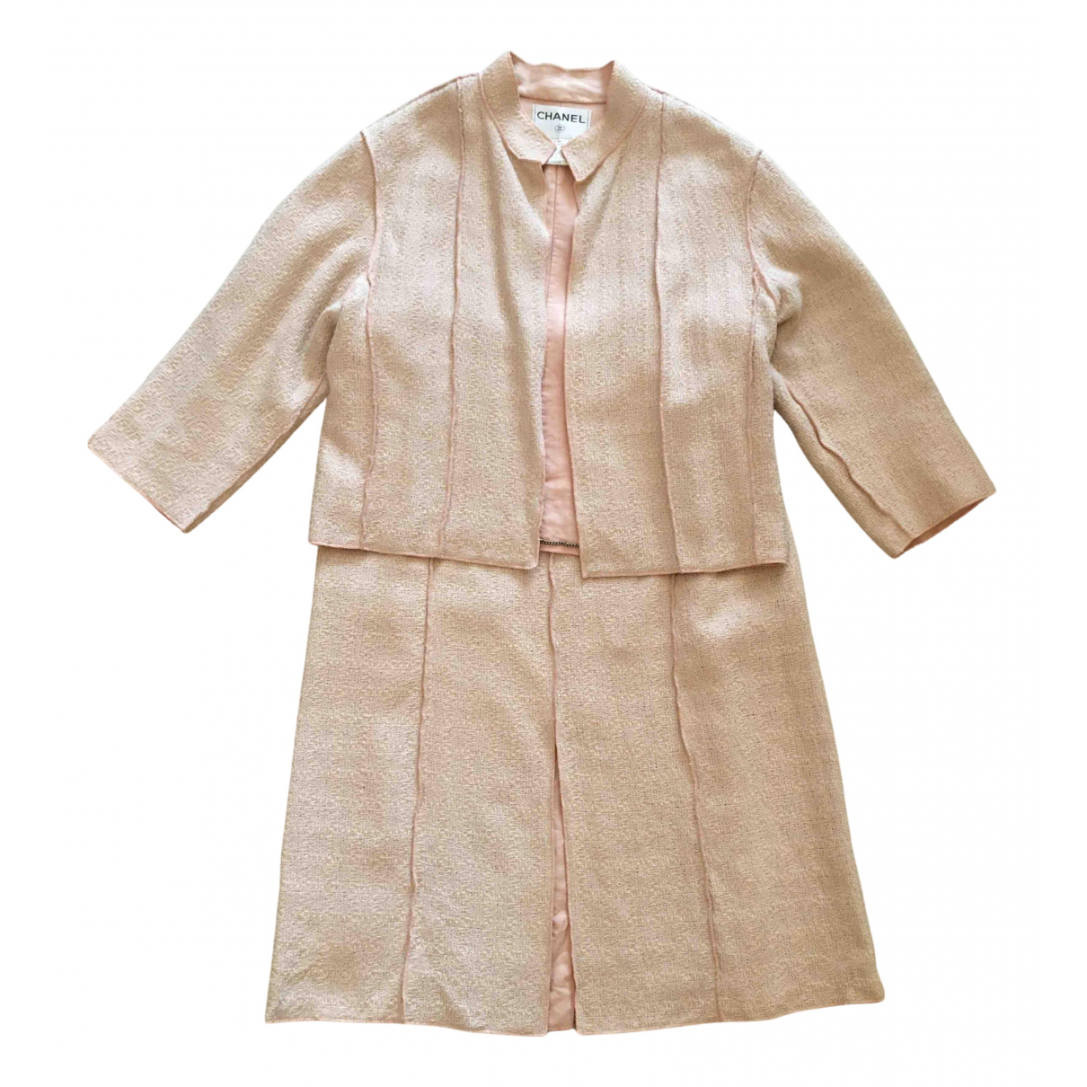 Chanel - Jupe   pour femme en coton - rose