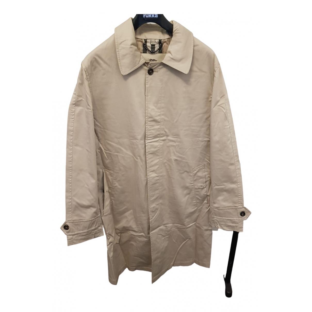 Burberry \N Beige Cotton jacket  for Men 50 IT